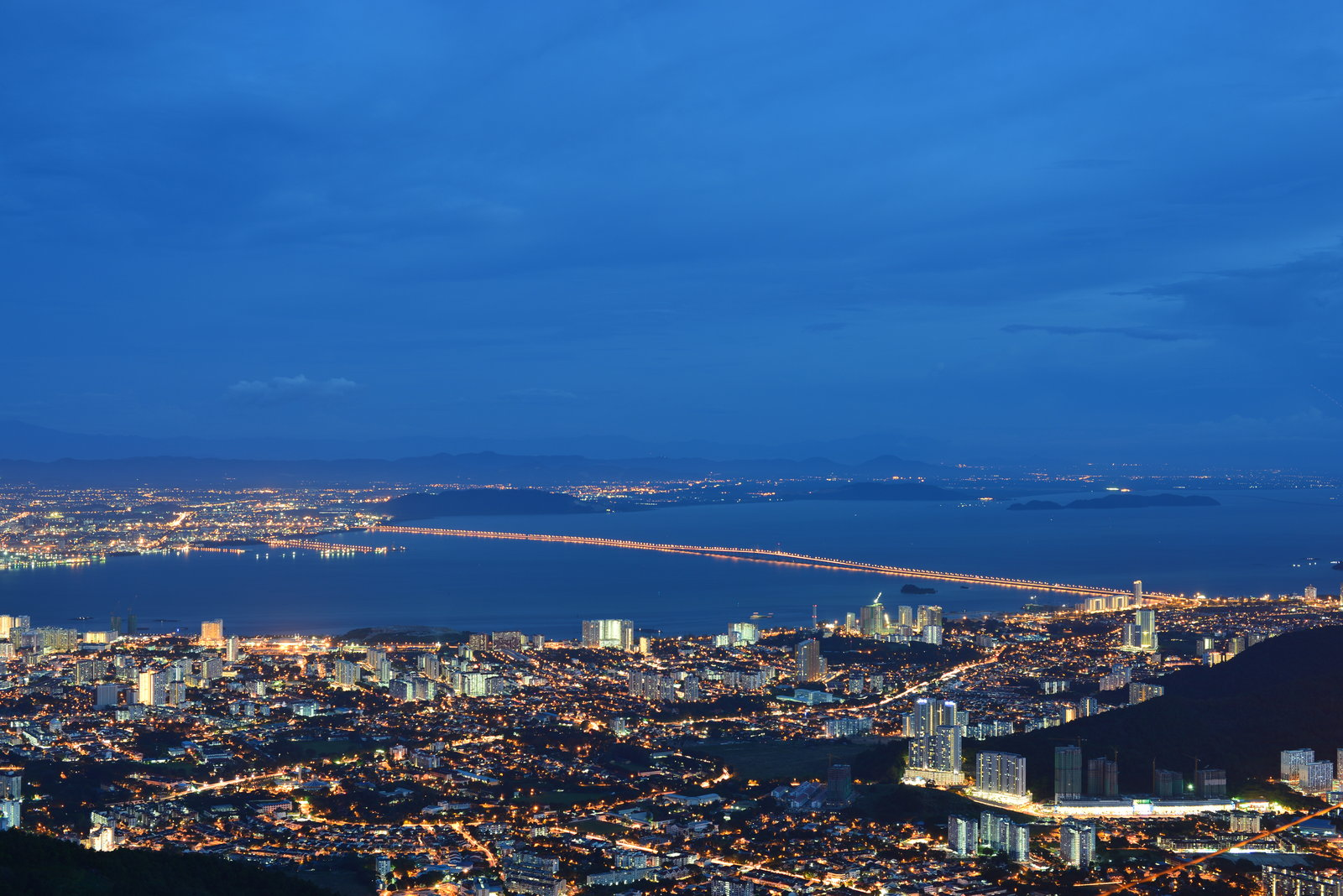 Arial View of Penang