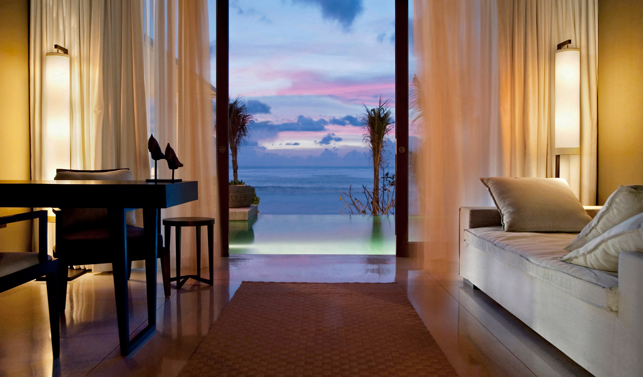 View from the Ocean Pool Villa